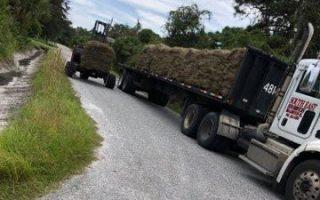 sod install turf truck